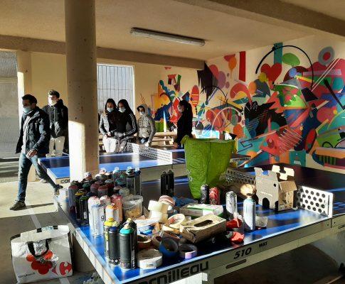 Projet Street Art au lycée